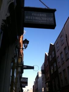 external eustace street sign