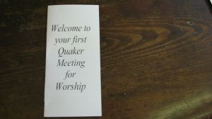 leaflet for newcomers